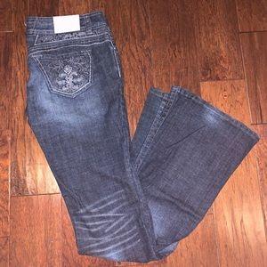 Candie's Dark Wash Bling Jean